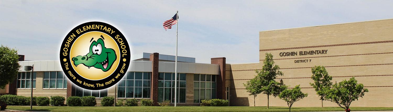 Goshen Elementary School Banner