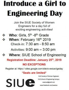 IGE Day Flyer
