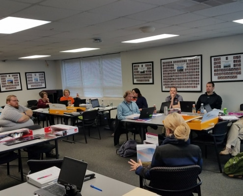 District 7's K-12 Science Committee continues to meet regularly in order to gain a deeper understanding of the Next Generation Science Standards (NGSS). The committee is researching and developing a new science curriculum that is aligned to the NGSS.