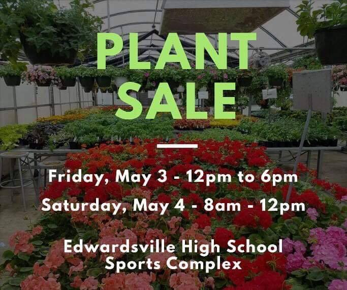 EHS Greenhouse Plant Sale