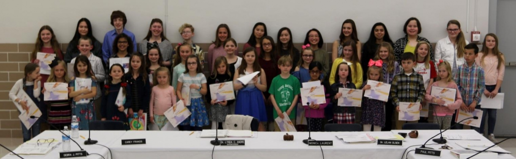 District 7 Young Authors Recognized for Outstanding Talent
